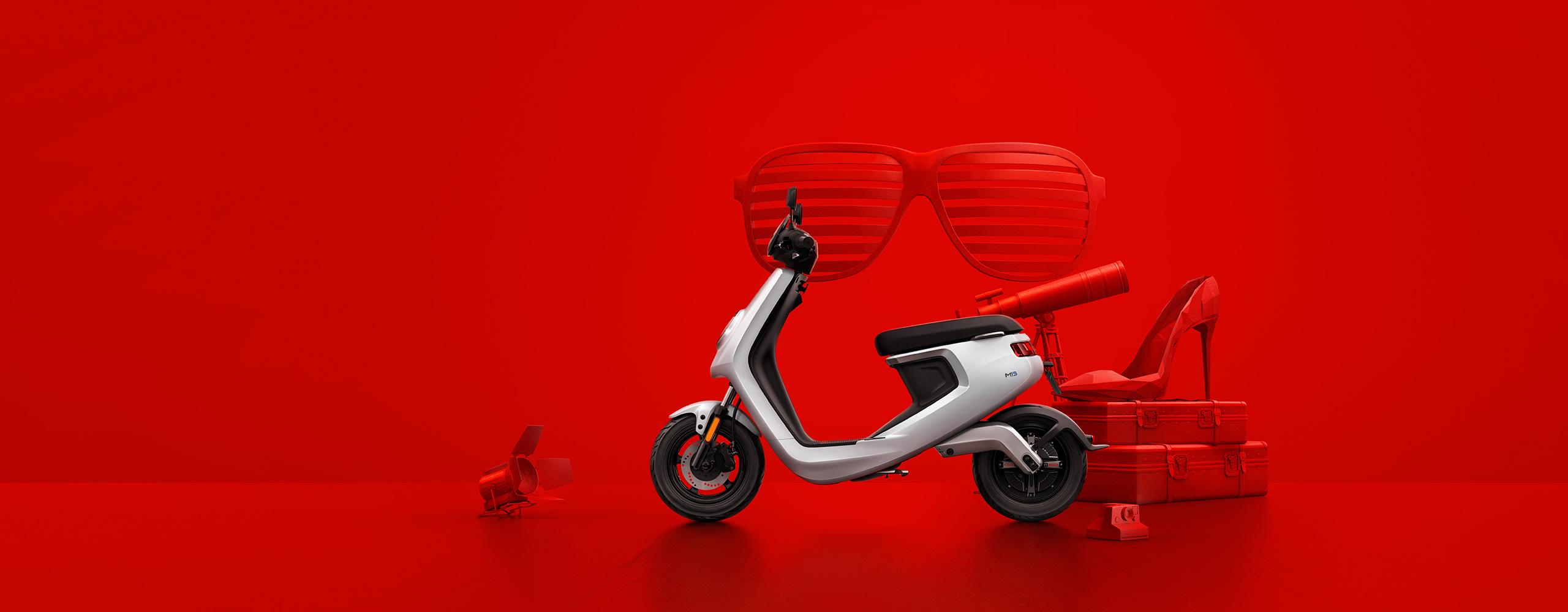 Essai scooter electrique niu - niu-paris